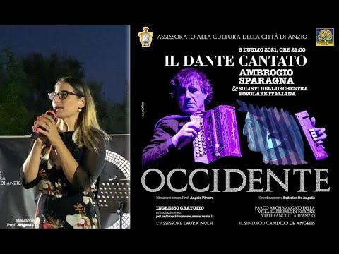'Il Dante cantato', strepitoso successo alla Villa imperiale per l'evento con il Maestro Sparagna