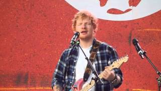 Ed Sheeran ft Chris Martin - Thinking Out Loud live at the Global Citizen Festival 26 September 2015