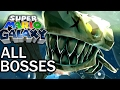Super Mario Galaxy: All Bosses (No Damage) (4K 60fps)
