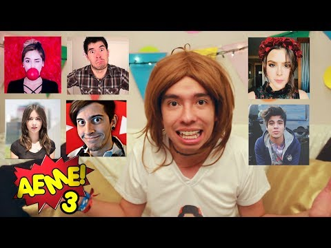 AEME! - Capitulo 26 - Imitando Youtubers (HolaSoyGerman, Kika Nieto, Yuya, Caeli, Roblesiutu, Sebas)