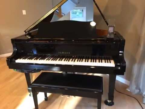 Yamaha Mark Iv Disklavier Full Function 5 8 Quot Baby Grand Piano Dc2m4 For Sale Youtube