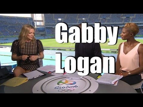 She was gabby logan upskirt pictures cute