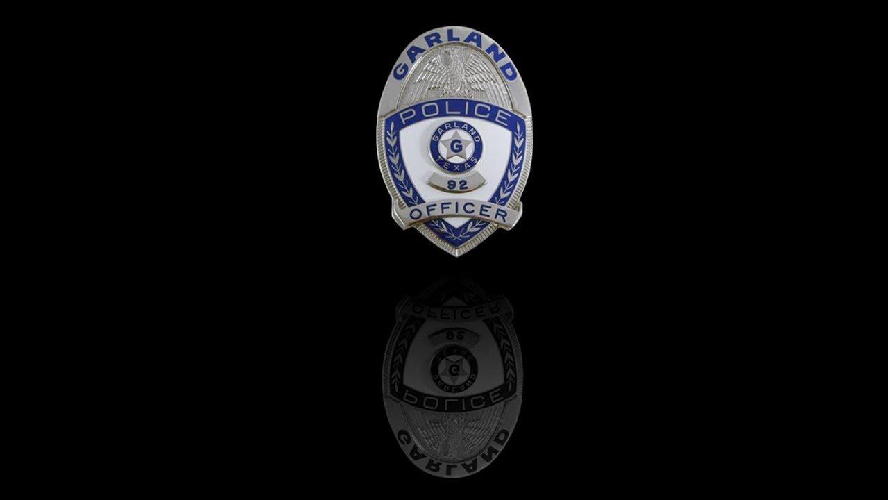 2018 Garland Police Department Fallen Officer Memorial Ceremony