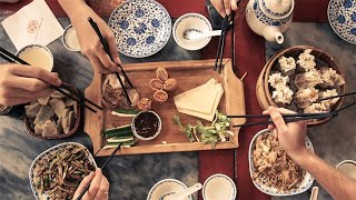 Individual meals and serving chopsticks: Changing dining table habits