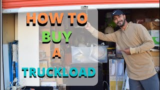 HOW TO BUY LIQUIDATION TRUCKLOADS - How To Start Buying And Reselling Truckloads Of Big Box Items