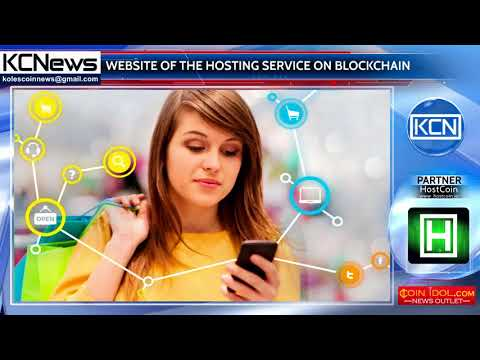 The world's first website hosting service on the blockchain