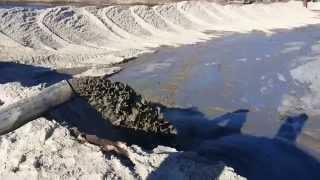 Намыв песка на карту насосом Dragflow(, 2015-04-02T09:18:23.000Z)