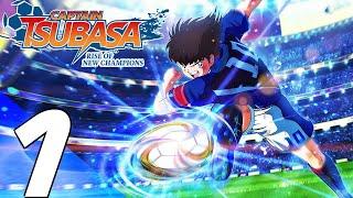 CAPTAIN TSUBASA RISE OF NEW CHAMPIONS Gameplay Walkthrough Part 1 - Story Mode (Full Game) PS4 PRO