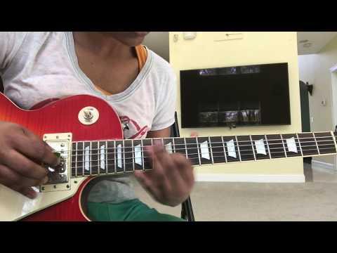Electric guitar - Kannodu Kanbathellam/Kannulatho Choosevi (Jeans)