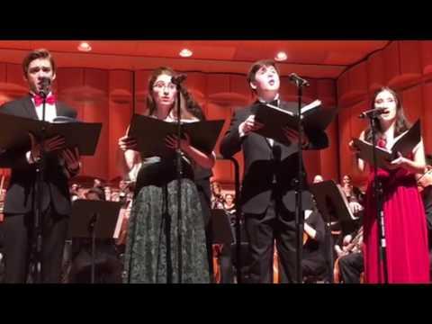 Schubert Magnificat: Deposuit potentes de sede, LaGuardia High School