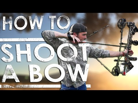 How To Shoot A Compound Bow For Beginners | The Sticks Outfitter | EP. 20