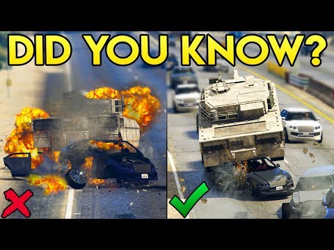 GTA Online DID YOU KNOW? - How To Make Your Vehicles Immune to Vehicle Explosions!