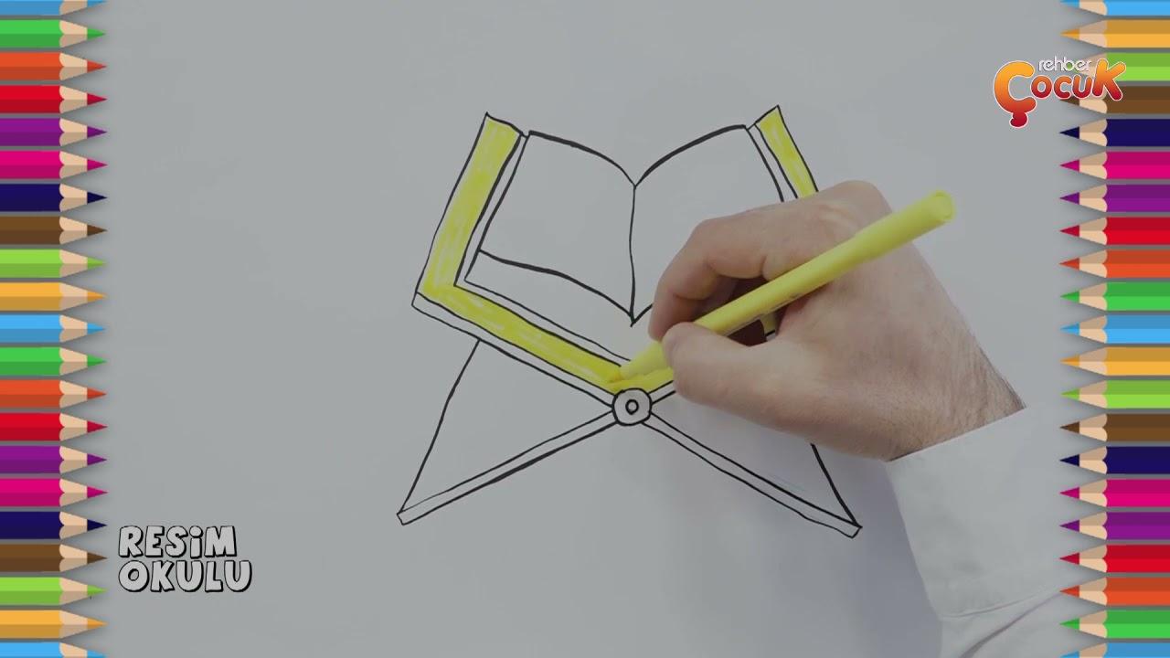 Kur'an-Rahle Çizimi? / Kur'an-Rahle Çizimi nasıl yapılır? / Resim Okulu #6