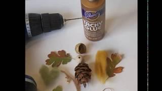 Осенние поделки из шишек своими руками