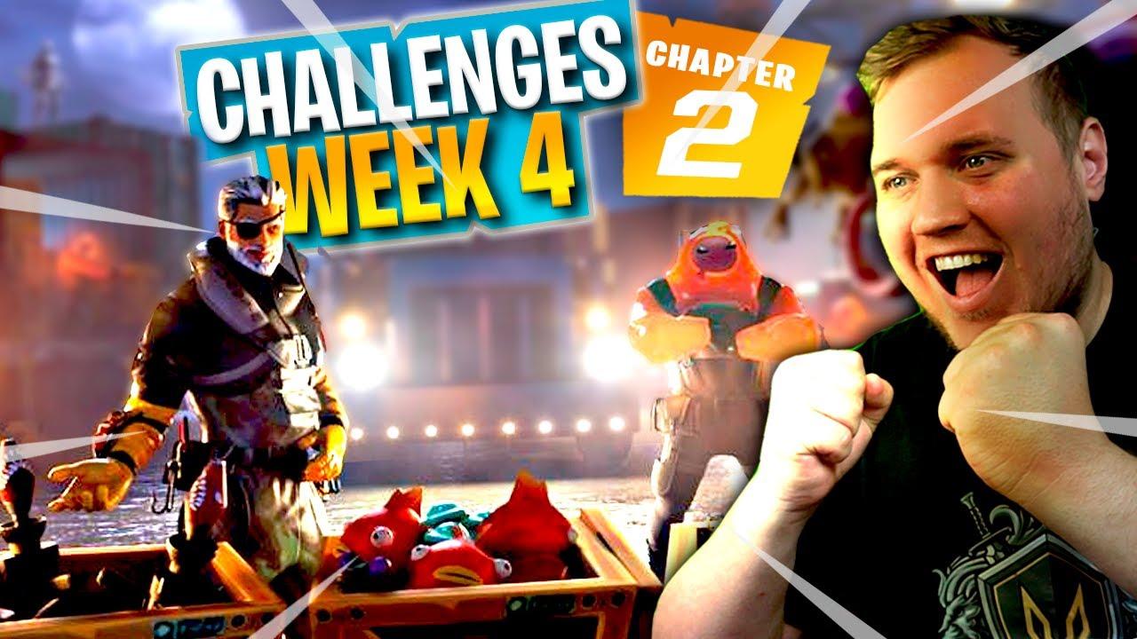 NEM MÅDE AT KLARE CHALLENGES! *WEEK 4* ::  Fortnite Dansk m. Vercinger