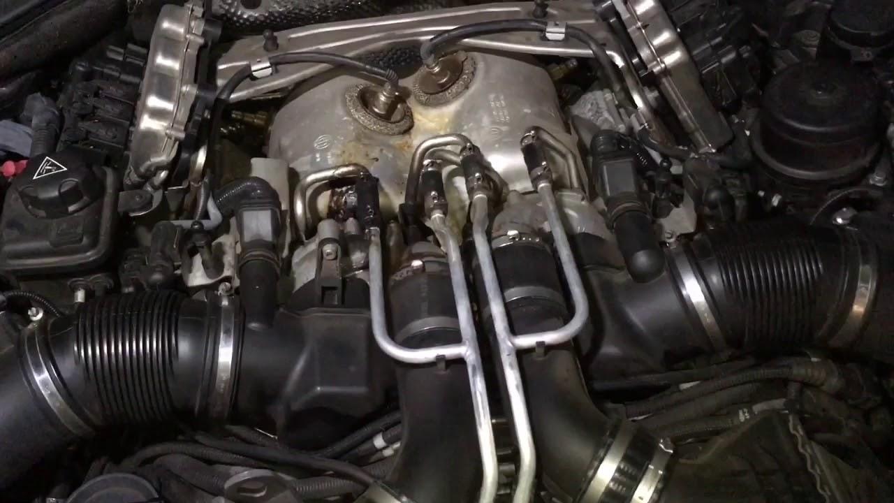 BMW F10 M5 S63 Turbo Coolant Pipe Leak - YouTube