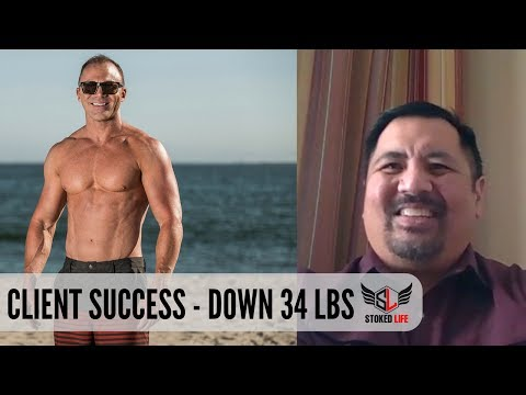 Down 34 lbs - Client Success Story - Stoked Life Wellness