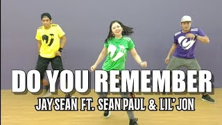 DO YOU REMEMBER by Jay Sean Ft. Sean Paul & Lil' Jon | Jingky Moves | Pop | Zumba