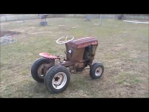 1963 Bolens 800 Tractor Runs and Drives