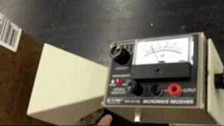 Microwave Fabry-Perot interferometer
