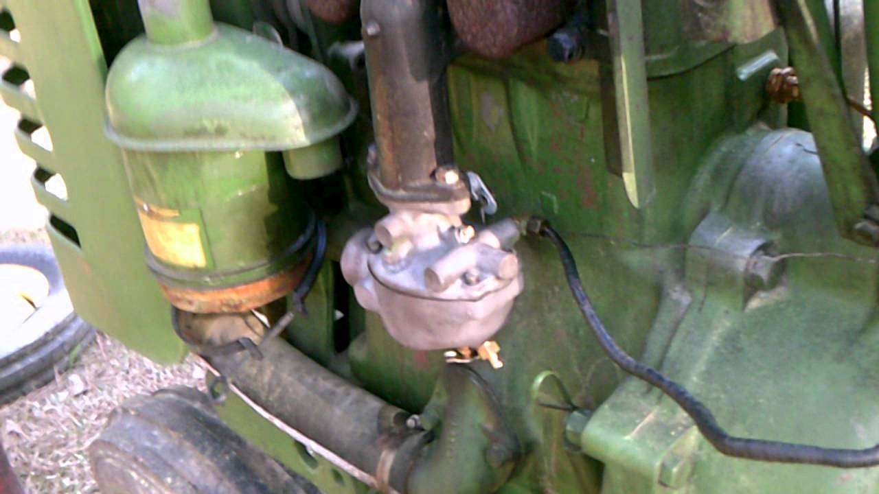 small resolution of 1952 john deere mt first start after carb rebuild