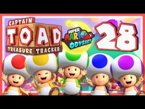 CAPTAIN TOAD: TREASURE TRACKER #28: Die Toad Brigade auf Weltreise! [1080p] ★ Let's Play