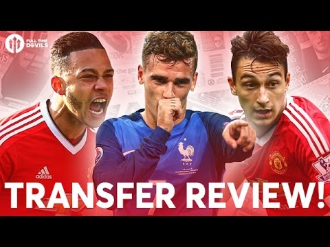 Griezmann, Memphis, Aubameyang and More! | Manchester United Transfer News Review!