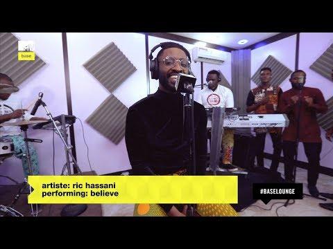 "Ric Hassani performs ""Believe"" LIVE on MTV Base Lounge with Alternate Sounds"