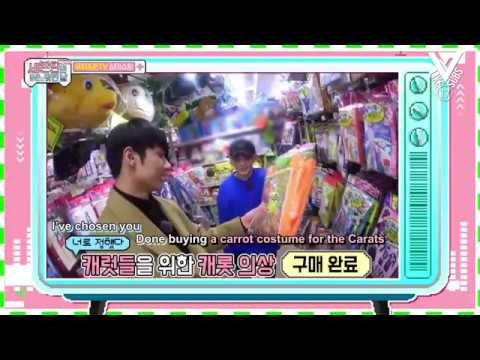 [Engsub] 170331 Seventeen One Fine Day in Japan - Jun & Woozi TV by Like17Subs