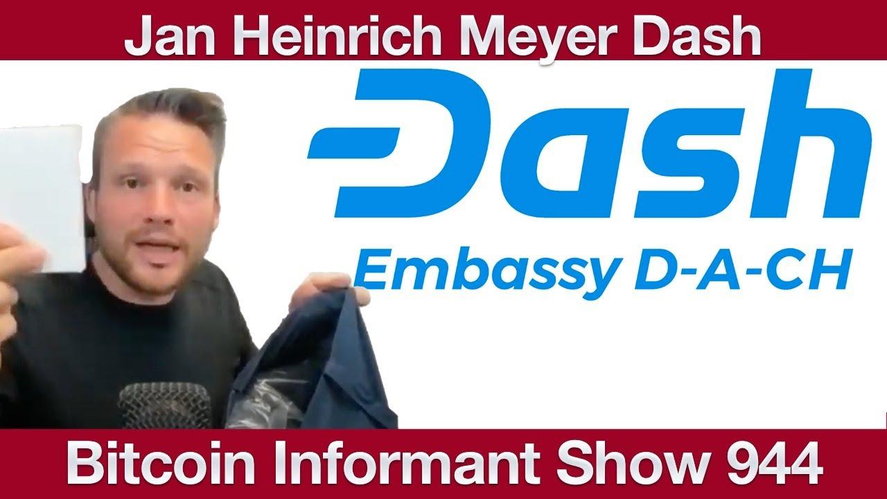 Interview Jan Heinrich Meyer Dash Embassy DACH - Die Krypto Revolution