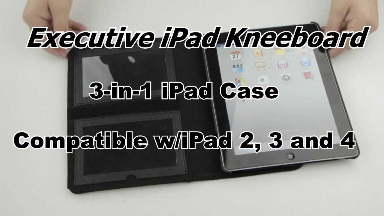 ec58de0706d Executive iPad Cockpit Kneeboard - YouTube