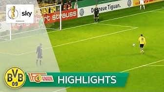Borussia Dortmund - Union Berlin 4:1 i.E.   Highlights DFB-Pokal 2016/17 - 2. Runde