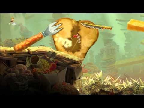 Rayman Legends Walkthrough Mundo 3: Podrido y estropeado - All Teensies / Todos los diminutos