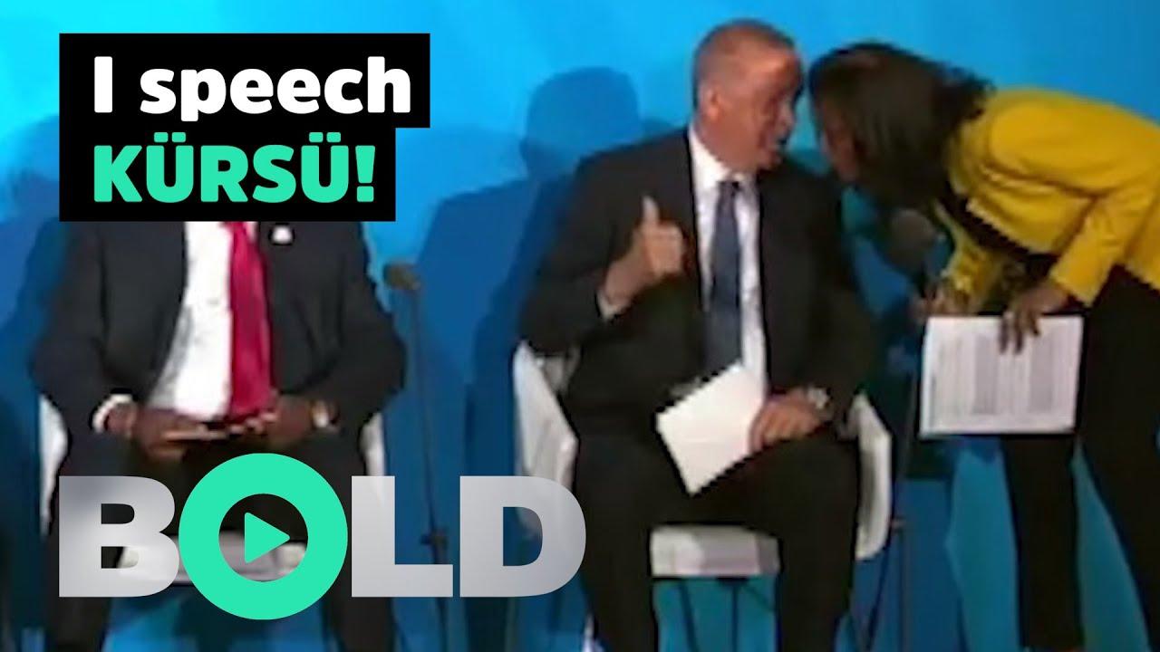 I speech kürsü!