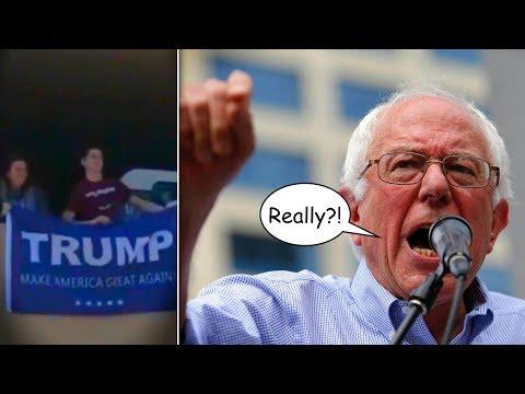 Bernie Sanders Brilliantly Shuts Down MAGA Hecklers
