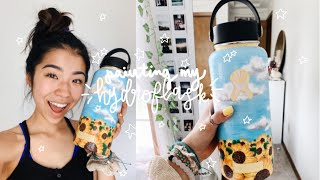 painting my hydro flask!!