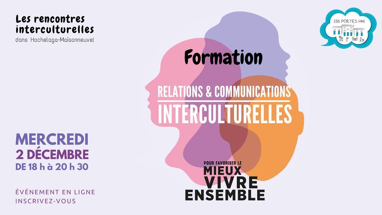 La formation interculturelle mise au travail de la reconnaissance - Archive ouverte HAL