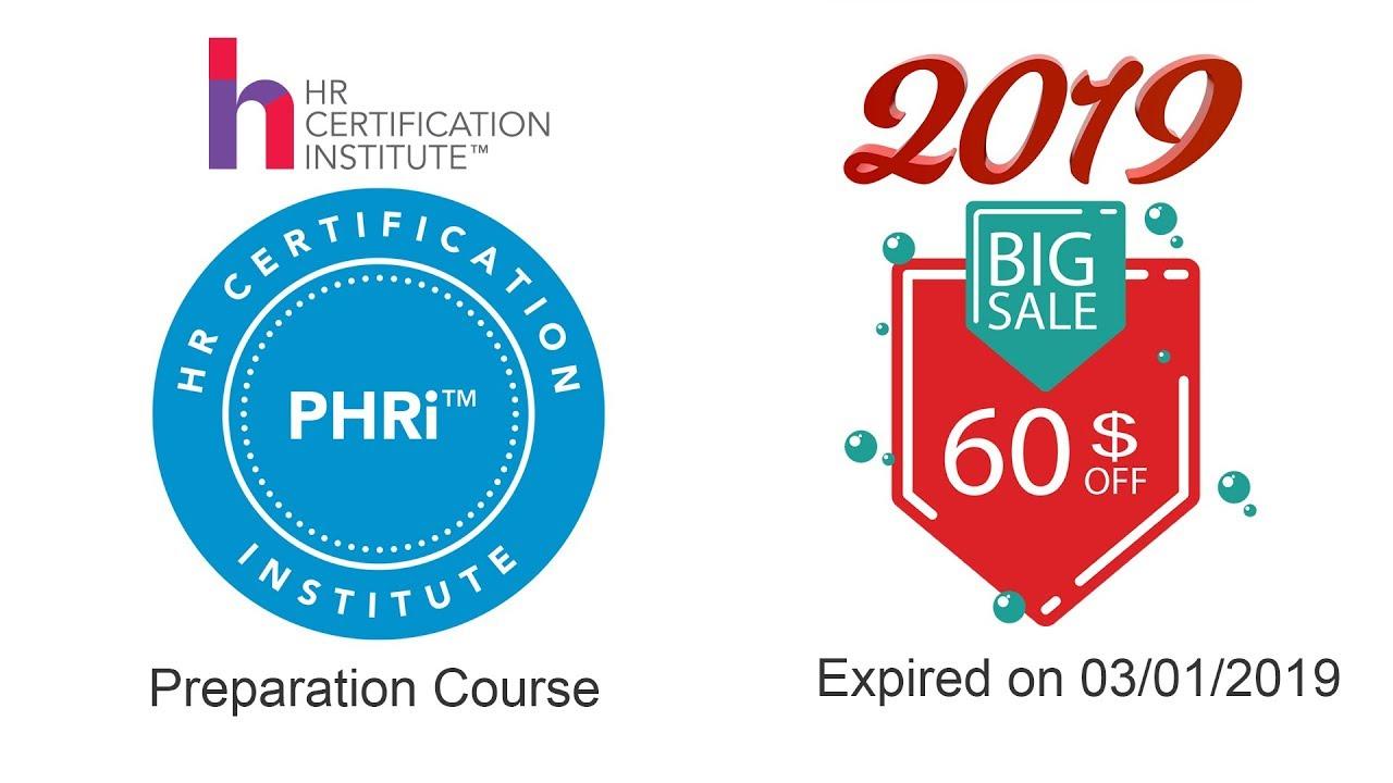 PHRI 2019 Preparation Course (for Arabs) - HRCI Certification