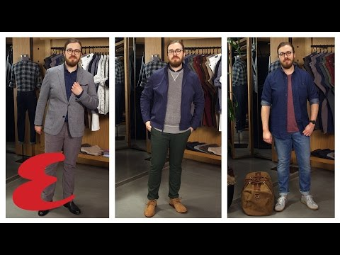 3 Fresh Ways To Style A Chambray Shirt
