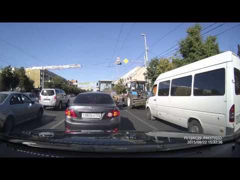 Трактористы стритрейсеры  Ленинский пр т  Калининград