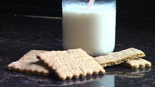 How To Make Healthy Graham Crackers.