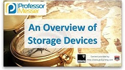 An Overview of Storage Devices - CompTIA A+ 220-901 - 1.5