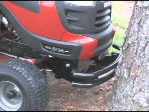 craftsman lawn tractor attachments. craftsman tractor attachments - dual bar bumper lawn c