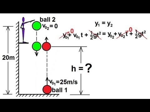 Physics - Mechanics: Motion In One-Dimensions (20 of 22) Two Objects