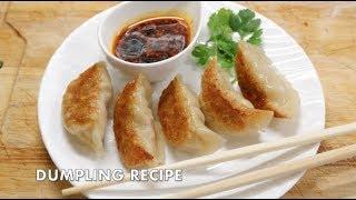 HOW TO MAKE: CHINESE DUMPLING | DIM SUM | EASY RECIPE