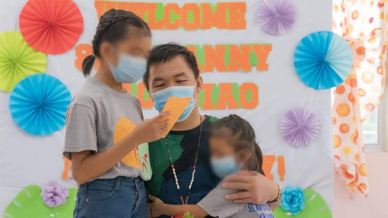 Senator Manny Pacquiao Celebrated Father's Day at St. Agnes Children's Home.