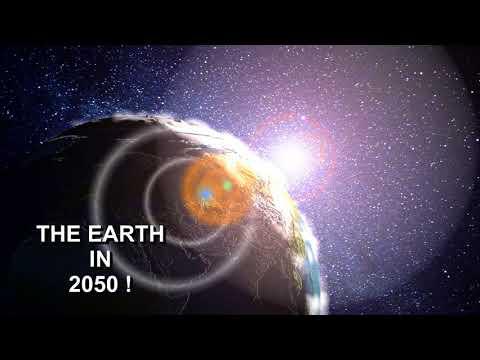 VFX 3D Earth 205020 Destruction planète terre. Animated short film 3ds Max 2018. planète terre
