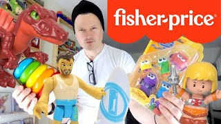 NEW FISHER PRICE ROOM TOUR, COLLECTION & UPCOMING UNBOXING REVIEWS: LITTLE PEOPLE, IMAGINEXT & MORE