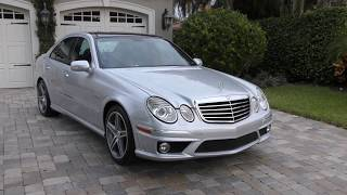 2009 Mercedes Benz E63 AMG Review and Test Drive by Bill Auto Europa Naples
