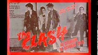 The Clash audio live at au stadium, Paris 1978